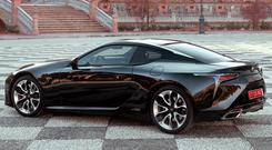 STUNNER: Smart, classy and sexy, the LC 500h turns heads wherever it goes
