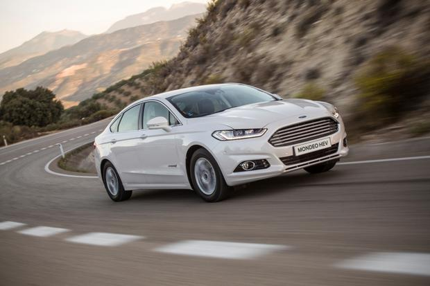 Impressive: But the large battery detracts from the Mondeo HEV's many benefits