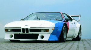 Fast back then: BMW M1 of 1979