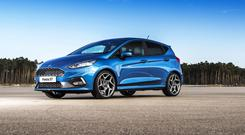 The Ford Fiesta ST3 'hot' hatchback