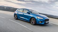 Family favourite: The new Ford Focus 5dr hatch