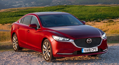 STYLE: The updated Mazda 6 looks stunning in Soul Red