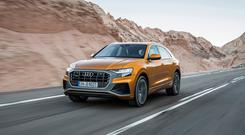 The new Q8 coupe SUV from Audi