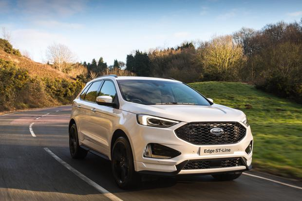 FORD EDGE: The ST-Line model comes in at almost €60,000