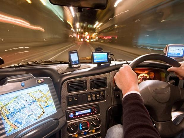 Too much going on: drivers distracted by technology