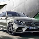 The latest Mercedes C-Class saloon