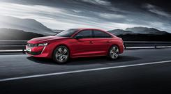 One of the best designed cars of next year will be the Peugeot 508 large-family fastback.