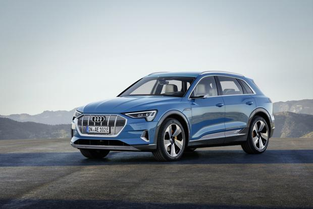 One of the more dramatic electric cars due here in 2019 is the new e-tron SUV from Audi.