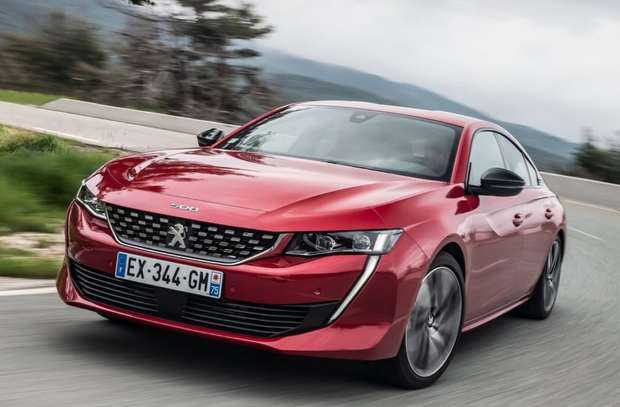 Peugeot's sporty and stunning 508 saloon