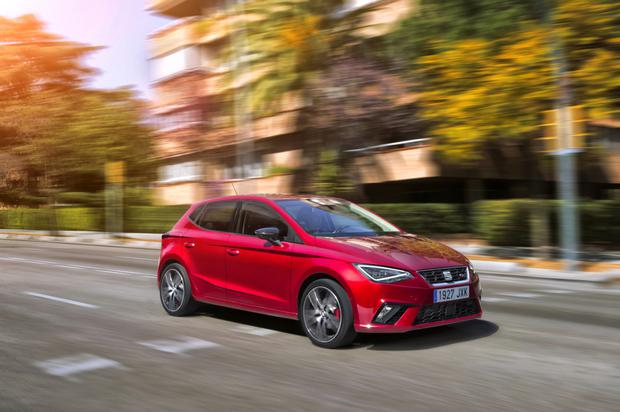 PRACTICAL AND SPACIOUS: The SEAT Ibiza is in a class of its own when it comes to style and space
