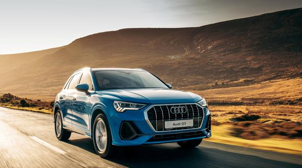 Chunky number: the latest Q3 urban crossover from Audi
