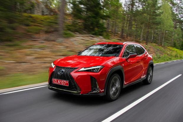 Craftsmanship: the new Lexus UX urban crossover