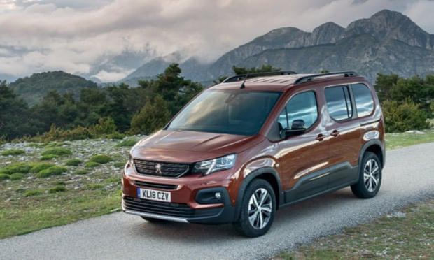 COMPETENT: Peugeot Rifter has nice touches to soften its commercial appearance