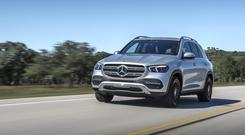 Power: The new GLE large executive SUV from Mercedes