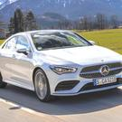 Improved drive: the new Mercedes CLA four-door coupé