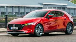 'Nice car': the new Mazda3 family hatchback