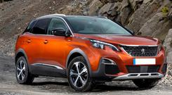 Tight at the back: the Peugeot 3008SUV 1.2-litre petrol