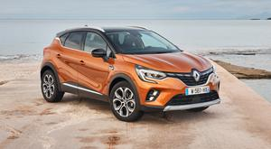 Longer body: the Renault Captur crossover