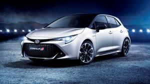 Muscular: the Toyota GR Sport hybrid hatchback