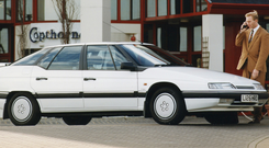 The XM marked a new departure for Citroën but still retained many of the French marque's design quirks.