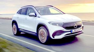 Just arrived: Mercedes' new EQA electric car is a compact electric crossover with much of the styling of the GLA