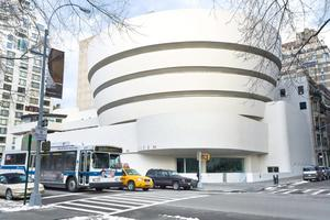 The Guggenheim Museum on the upper east side
