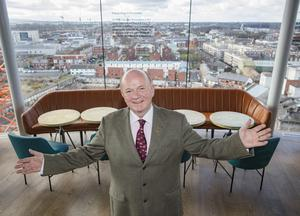 Paul Carty, Managing Director, Guinness Storehouse, at the new Gravity Bar in the Guinness Storehouse in Dublin. Picture: Arthur Carron.