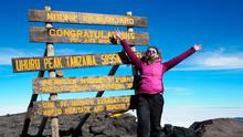 'We made it!' Kelly Donegan on the summit of Kilimanjaro
