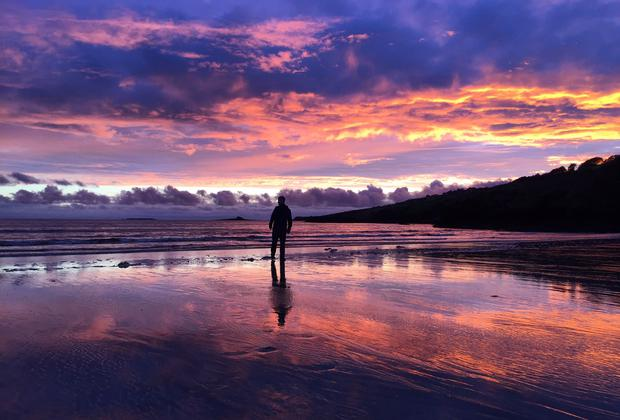 'The only place I need to see is Fintra beach in Co Donegal. I will be getting straight into that beautiful, cold, clean water,' writes Dr Shaun O'Boyle. Photo: Twitter / @shaunoboyle