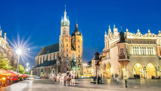 When they built the square in Krakow they certainly knew how to build one and there are quirky shops, bars and restaurants nearby