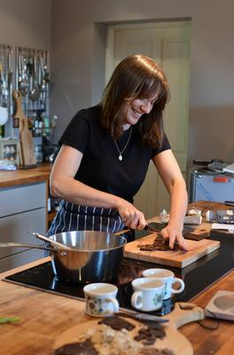Natalie Keane of Bean and Goose chocolate. Photo: Pól Ó Conghaile