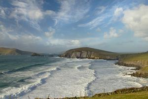 The wild Atlantic: Coumeenole beach in Dun Quin, Co Kerry, site of the famous scene from the film Ryan's Daughter