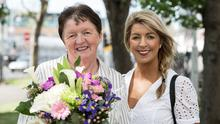 Overall winner of B&B Ireland Awards, 2019, Agnes O'Sullivan of Taobh Coille B&B, Cahirciveen, Co. Kerry, and her daughter Eileen O'Sullivan.