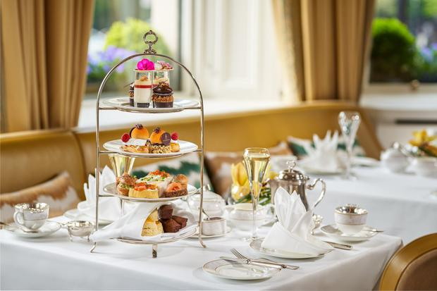 Afternoon tea at The Shelbourne