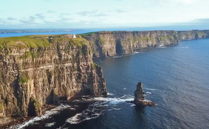 Cliffs of Moher. Screengrab: Clare County Council / Visit Clare