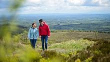 Walking on Slieve Beagh. Pic: Monaghan Tourism