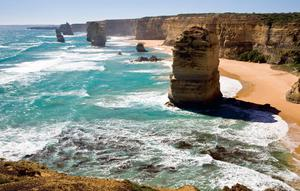 Australia's Twelve Apostles, as featured in Remarkable Road Trips by Colin Salter (Pavilion Books).