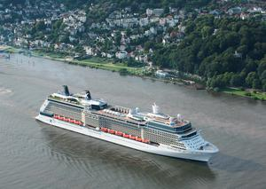 The 2,880-guest Celebrity Silhouette. Photo: Celebrity Cruises