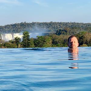 'Take me back!' says Gary Finnerty of Iguazú Falls. Twitter: @gazfinnerty