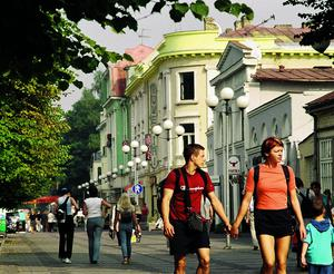 Riga Latvia's largest city centres round a pastel-postcard walled old town.
