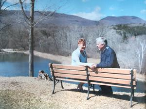 Gus & Martina Shaughnessy in Vermont, USA, in 2016.