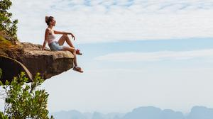 Travelling solo can bring rich rewards. solo traveller. Photo: PA Photo/iStock.