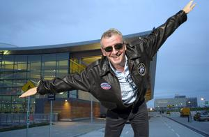 Composite Image: Ryanair chief executive Michael O'Leary, with Cork Airport in the background.