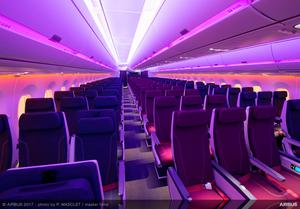 Economy Class in Qatar Airways' A350-1000