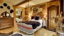Boutique and luxury all in one: The honeymoon suite, 'Le Pleney'.