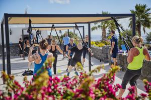 Working up a sweat: Exercising in sunny Lanzarote with Comlpete Transformation