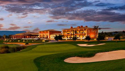 A view of the clubhouse at Son Gual