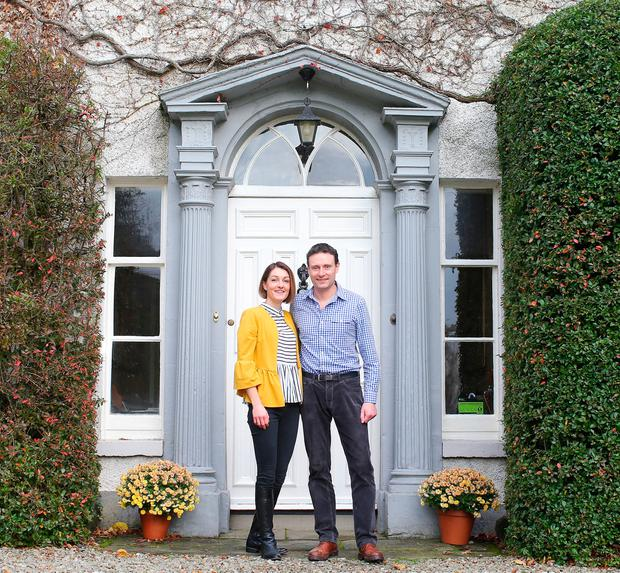 Lou and John Mathers of Newforge House, Co Down
