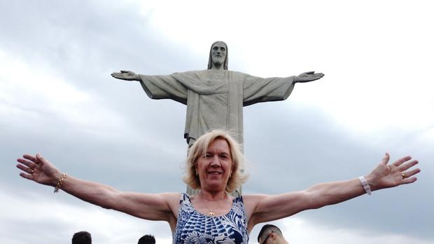 Angela Carrick sent this photo from Rio, in Brazil.