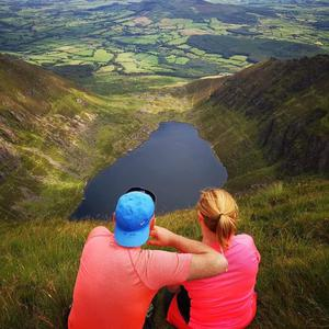 Coumshingaun, a corrie lake in Co Waterford. Photo: Twitter / @Waterfordcamino